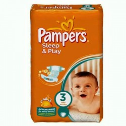 LesCouches Pack 100 couches Pampers Sleep & Play