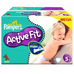 LesCouches Pack 74 couches Pampers Active Fit