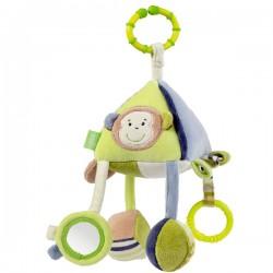 Babysun - Pyramide d'activités Singe Monkey Donkey sur Les Couches