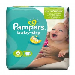 LesCouches Pack 31 couches Pampers Baby Dry