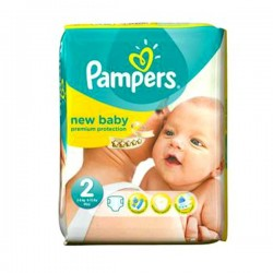 LesCouches Pack 44 couches Pampers New Baby