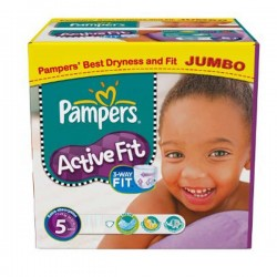 LesCouches Maxi Giga Pack 222 couches Pampers Active Fit