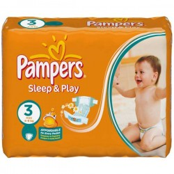 LesCouches Maxi Giga Pack 500 couches Pampers Sleep & Play