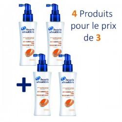 Head & Shoulders - 4 Lotions Tonifiantes Anti Chute - 4 au prix de 3 sur Les Couches