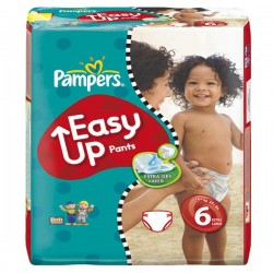 Pampers - 114 Couches Easy Up taille 6 sur Les Couches