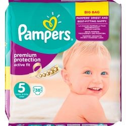 LesCouches Pack 38 couches Pampers Active Fit