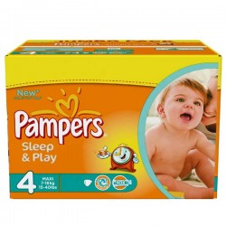 LesCouches Pack 86 Couches Pampers Sleep & play