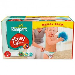 Pampers - 168 Couches Easy Up taille 5 sur Les Couches