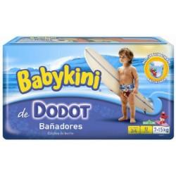 LesCouches Pack 12 Couches Maillot de bain Dodot Babykini