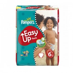LesCouches Pack 38 couches Pampers Easy Up