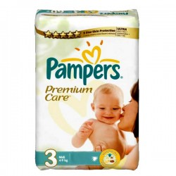 LesCouches Pack 27 couches Pampers Premium Care