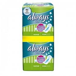 Always - 18 Serviettes hygiéniques Ultra taille Normal sur Les Couches