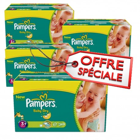 680 couches pampers baby dry taille 3 moins cher sur les couches - Couches pampers taille 3 ...