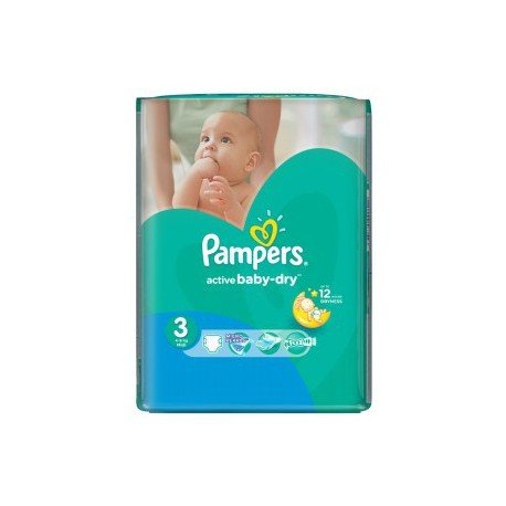 74 couches pampers active baby dry taille 3 bas prix sur - Couches pampers baby dry taille 3 ...