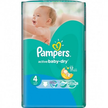 76 couches pampers active baby dry taille 4 pas cher sur - Prix couches pampers baby dry taille 4 ...