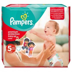 Pampers - 14 Couches Easy Up taille 5 sur Les Couches