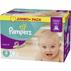 Pampers - 120 Couches Active Fit taille 3