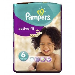 Pampers - 31 Couches Active Fit taille 6