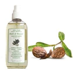 Huile de beauté au Karité 100% pure et végétale sur Les Couches