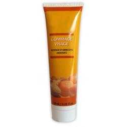 Crème gommage visage aux Noyaux d'abricots & Amandes sur Les Couches