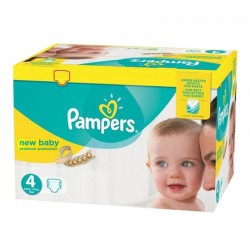 Pampers - Pack 168 Couches Premium Protection - New Baby taille 4