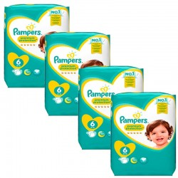 Pampers - Giga Pack 96 Couches Premium Protection - New Baby taille 6