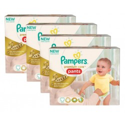 Pampers - Giga Pack 224 Couches Premium Care Pants taille 3 sur Les Couches