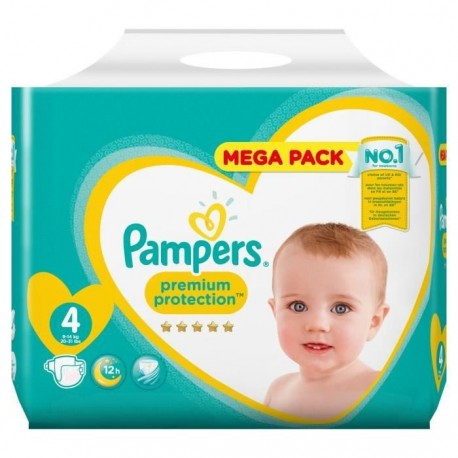 Pampers - Pack 39 Couches New Baby - Premium Protection taille 4 sur Les Couches