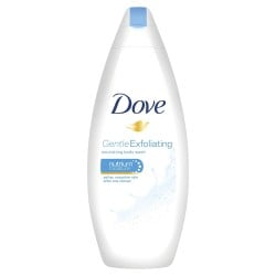 Dove Douche 250 ml Gentle Exfoliating sur Les Couches