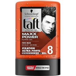 Taft Gel 300 ml Maxx Power N°8 sur Les Couches