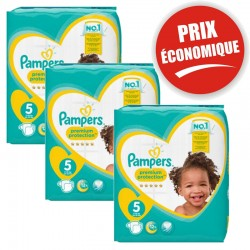 Pampers - Maxi Giga Pack 120 Couches New Baby - Premium Protection taille 5
