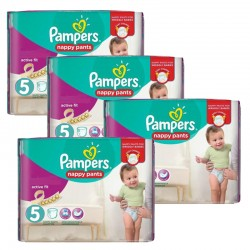 Pampers - Maxi Giga Pack 330 Couches Active Fit taille 5