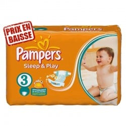 Pampers - 82 Couches Sleep & Play taille 3