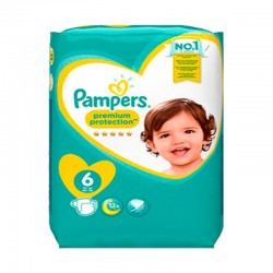 Pampers - Pack 56 Couches New Baby - Premium Protection taille 6