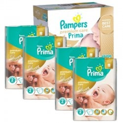 Pampers - Maxi Giga Pack 440 Couches Premium Care - Prima taille 2 sur Les Couches