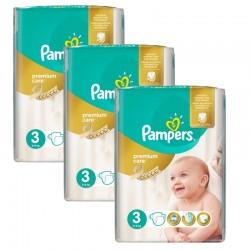 Pampers - Maxi Giga Pack 180 Couches Premium Care - Prima taille 3