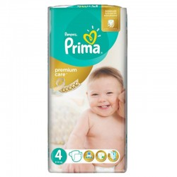 Pampers - Pack 20 Couches Premium Care - Prima taille 4 sur Les Couches