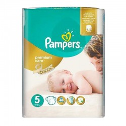 Pampers - Pack 26 Couches Premium Care - Prima taille 5 sur Les Couches