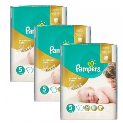 Pampers - Maxi Pack 208 Couches Premium Care - Prima taille 5 sur Les Couches