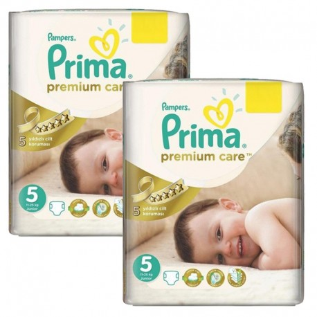 Pampers - Maxi Giga Pack 126 Couches Premium Care - Prima taille 5 sur Les Couches