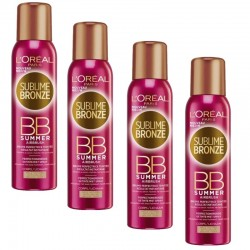 Lot de 4 Sprays Sublime Bronze 150 ml BB Summer Airbrush sur Les Couches