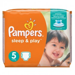 Pampers - Pack 58 Couches Sleep & Play taille 5