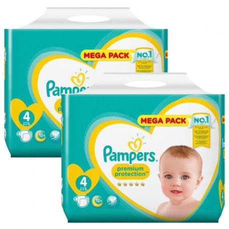 Pack 156 Couches Pampers New Baby Premium Protection sur Les Couches