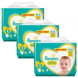 Giga Pack 234 Couches Pampers New Baby Premium Protection sur Les Couches