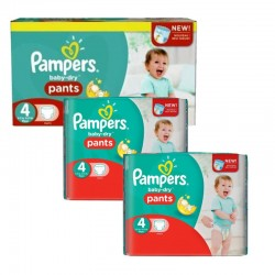 Pampers - Giga Pack 188 Couches Baby Dry Pants taille 4 sur Les Couches