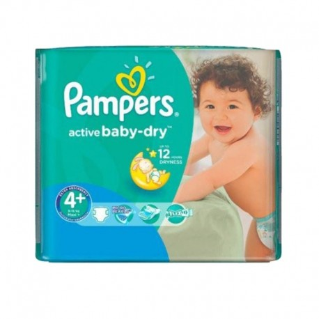 Pack 70 couches Pampers Active Baby Dry sur Les Couches