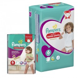 Pampers - Maxi Pack 112 Couches Active Fit - Pants