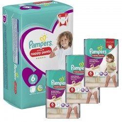 Pampers - Mega Pack 140 Couches Active Fit - Pants