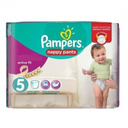 Pampers - Pack 40 Couches Active Fit Pants taille 5