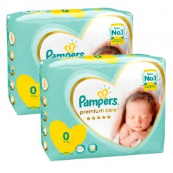 Pampers - Pack 60 Couches New Baby Premium Care taille 0 sur Les Couches